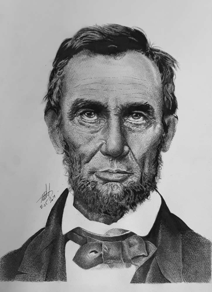 Abraham Lincoln par art-bat
